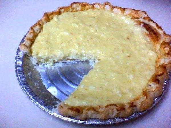 Coconut Cream Pie Rhonda's Recipe