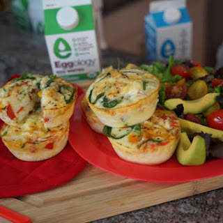 Eggology Egg White Muffins & 14 Fitness Challenges.