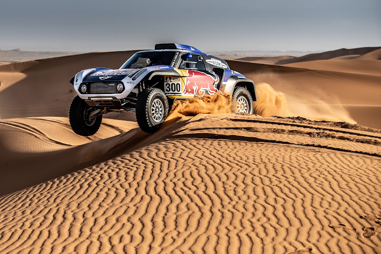 Toyota's toughest opposition will come from MINI, which is fielding eight cars driven by multiple Dakar winners. Picture: SUPPLIED