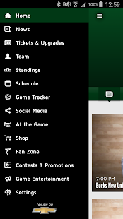 Milwaukee Bucks- screenshot thumbnail