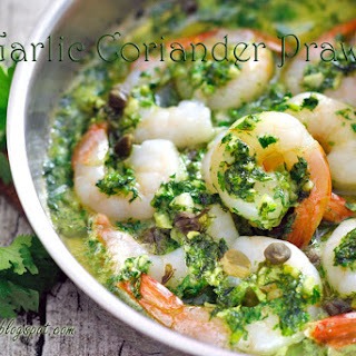 Garlic Coriander Prawn