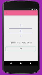Reminder 4 Text - náhled