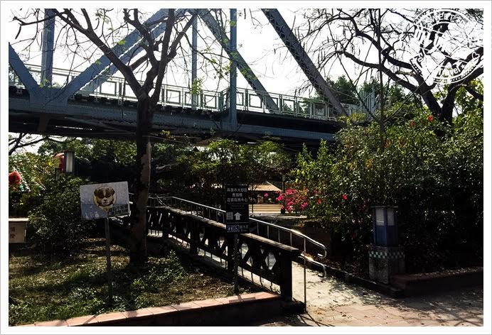 舊鐵橋濕地公園入口