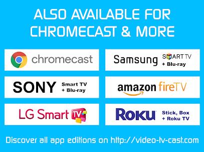 Video & TV Cast + DLNA Player & UPnP Movie Mirror Premium (Cracked) 8
