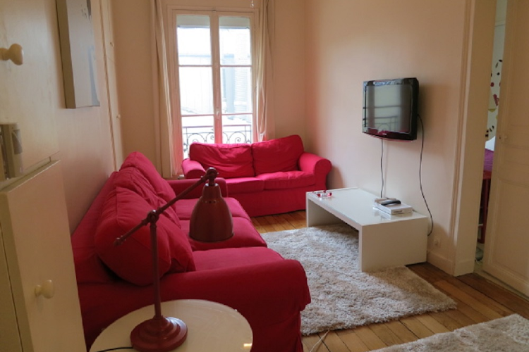 Living area at 1 bedroom Apartment in Saint Germain