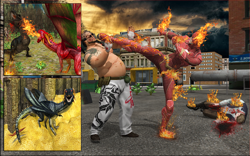 Fire Breather Hero Transform Dragon 1.2 screenshots 8