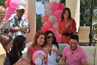 Photo: Primer Aniversario de Acceso Total en Telemundo 51. Maria Conchita Alonso, Abel Hernandez Y Mariana Rodriguez. Decoraciones:  http://www.BestPartyPlanner.net