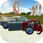 Crash Car Driving Icon