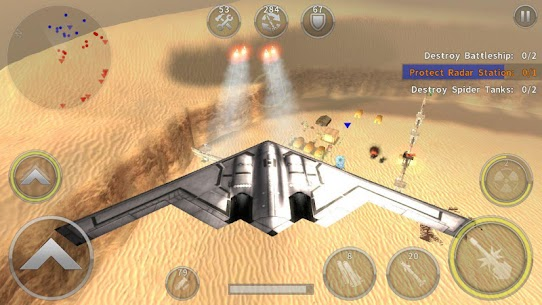 Gunship Battle Helicopter 3D MOD APK + OBB (Unlimited Coins) 6