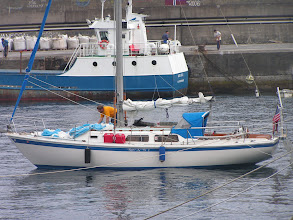 Photo: Глеб сушит дрифтер/Gleb drying the sails