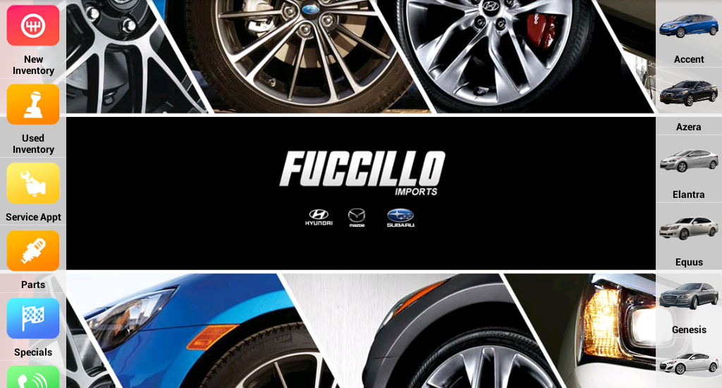Fuccillo Imports- screenshot