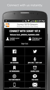 Sunny 107.9- screenshot thumbnail
