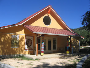 Photo: Yoga Farm, CA - Yoga Barn entrance