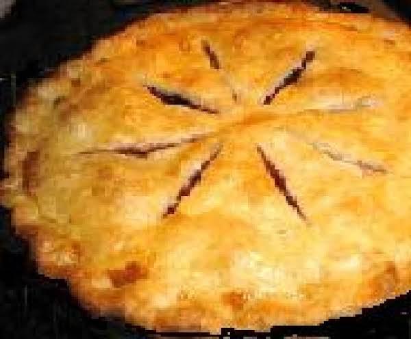 Raspberry Cherry Pie- Easy-