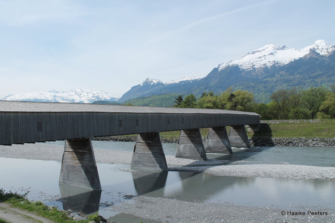 Rheinbrücke Vaduz-Sevelen (Le petit requin)