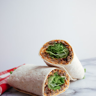 LENTIL & SUN-DRIED TOMATO HUMMUS WRAP Recipe