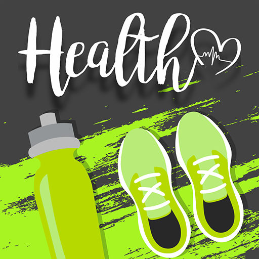 Health Group: Fitness, Eyes Protect, Drink Water. avatar image