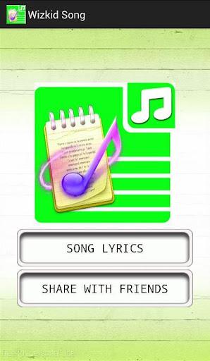 All Lyrics of Wizkid