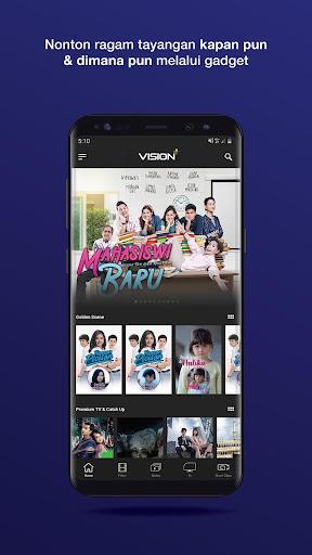 Vision+ : Nonton TV & Film Streaming modavailable screenshots 3