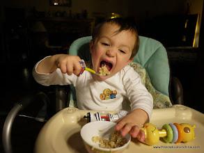 Photo: Hungry boy