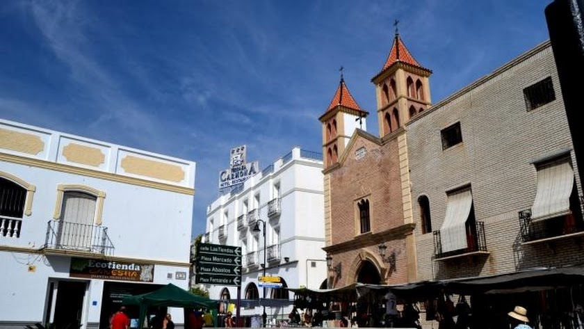 Foto de archivo del mercado de Vera.