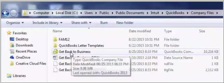 Quickbooks error code 6144 82 copying file