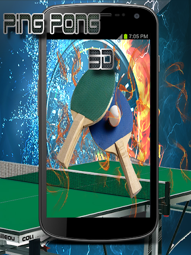 Ping Pong Table Tennis 3D