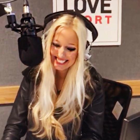 Hayley Palmer Love Sport Radio