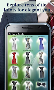 How to Tie a Tie Screenshot 7