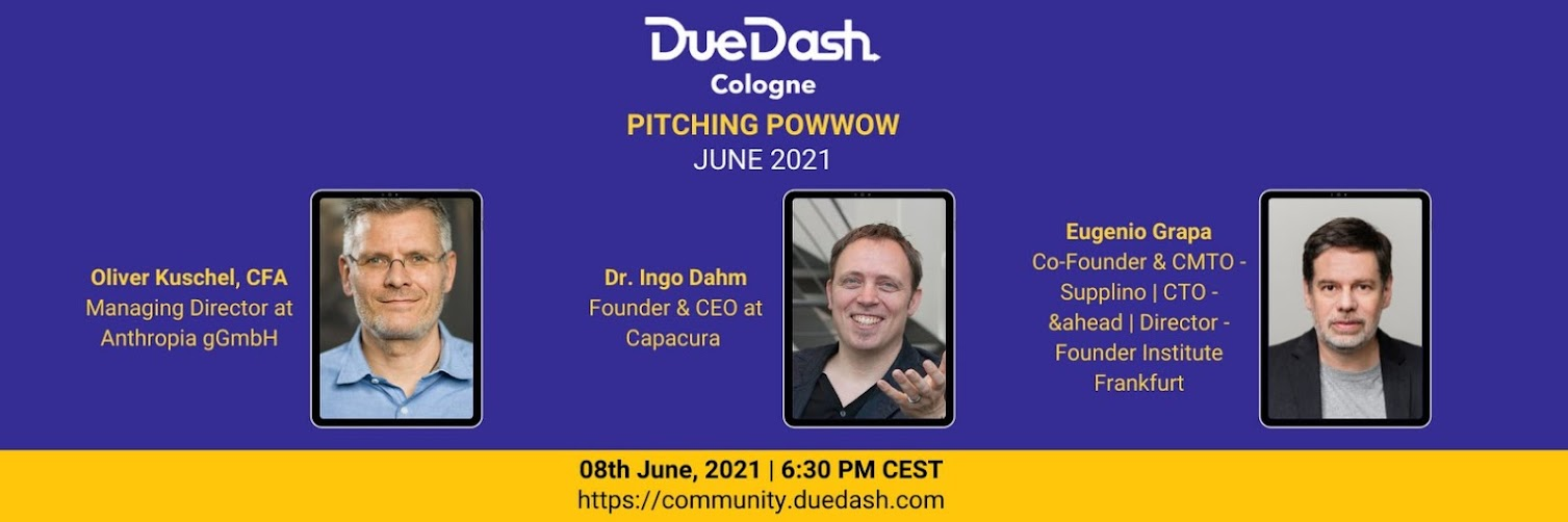 DueDash Cologne: Pitching PowWow June 2021