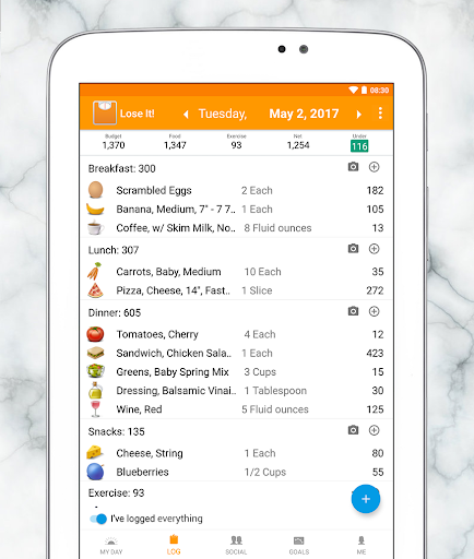 Lose It Calorie Counter Apps On Google Play