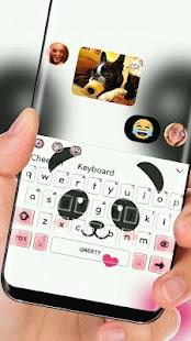 cute Panda Face Theme - náhled