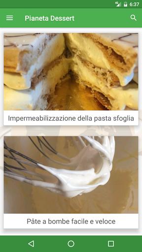ricette dessert