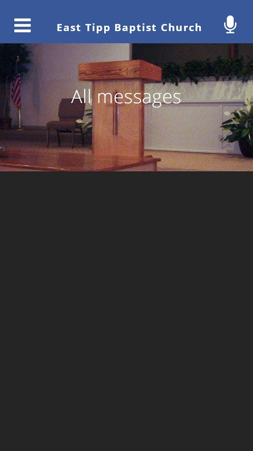 East Tipp Baptist Church- screenshot