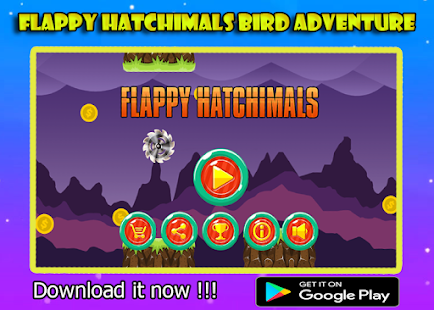 Flappy Hatchimals Bird Adventure - náhled