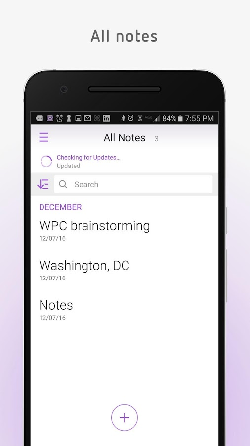 Secure Notes- screenshot