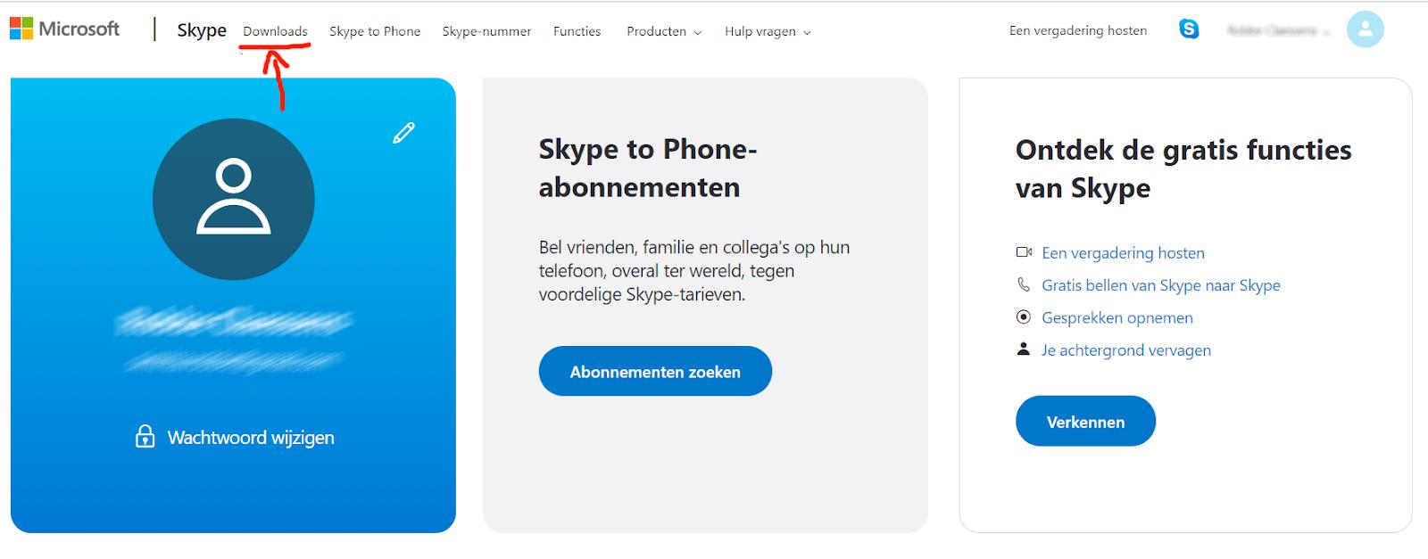 Hoe een skype account aanmaken en gebruiken in 5 stappen 2