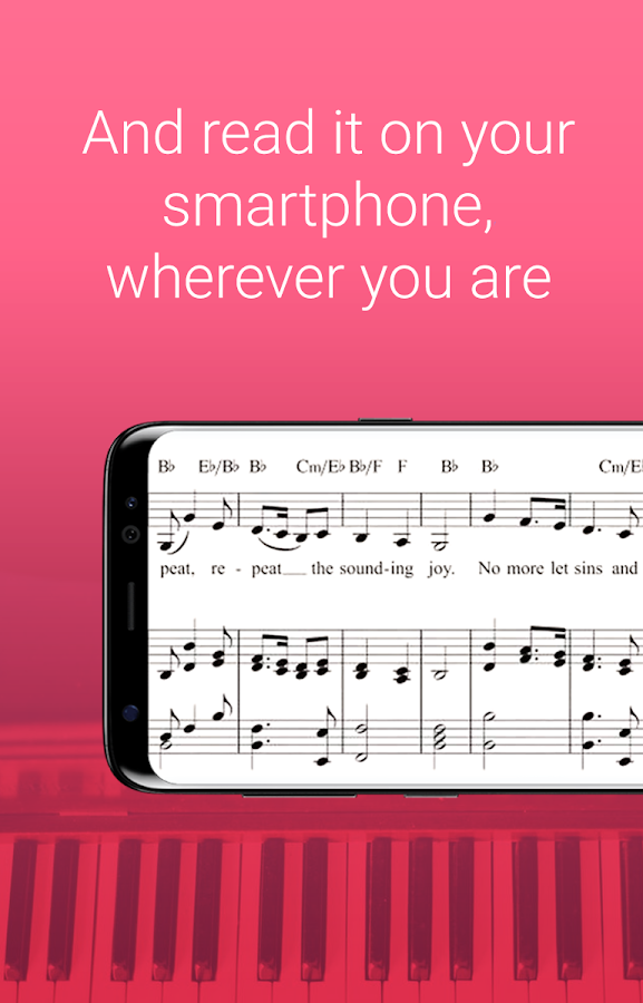 My Sheet Music - Sheet music viewer PRO- screenshot