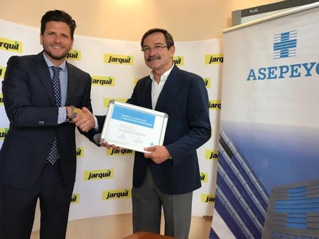 Jarquil ha sido reconocida recientemente por la mutua Asepeyo.