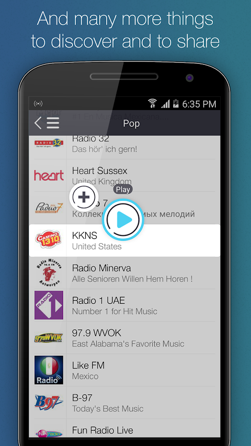 RadioDeck Your Internet Radio- screenshot