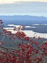 Photo: Lake James-foreground South Mountains-backgrounnd