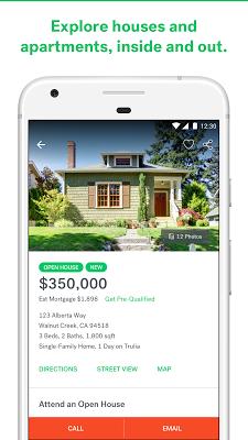 Trulia Real Estate & Rentals - screenshot