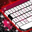 Pink Flame Keyboard Theme icon