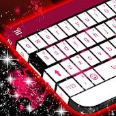 Pink Flame Keyboard Theme