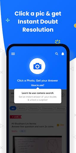 Class 8-12 JEE NEET Doubt App Free Online Coaching screenshot 7