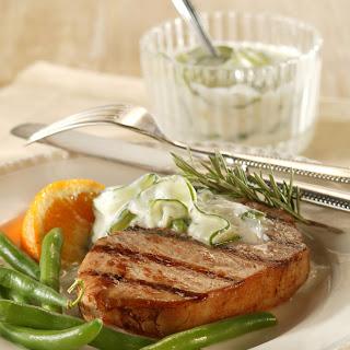 Grecian Goddess Grilled Chops Recipe