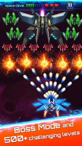 Space attack - infinity air force shooting screenshot 10