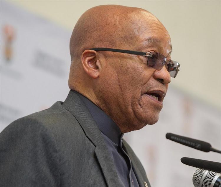Jacob Zuma. Picture: NTSWE MOKOENA