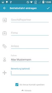Vimcar Fahrtenbuch - náhled