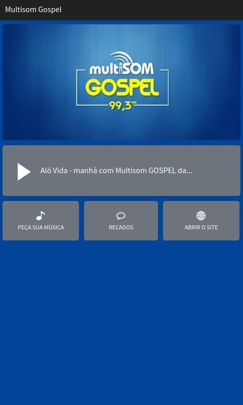 Multisom Gospel- screenshot